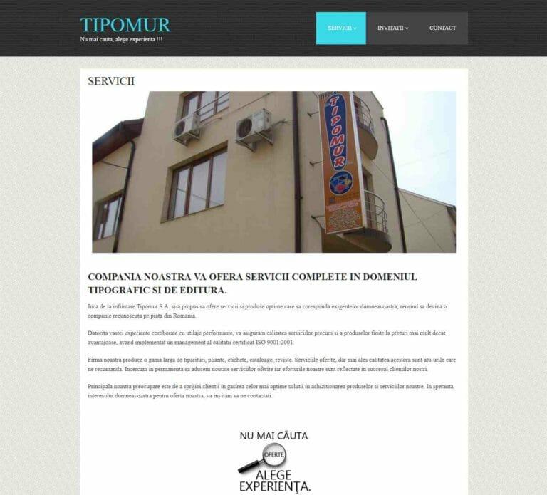 Site pentru o firma de servicii instalatii electrice 4