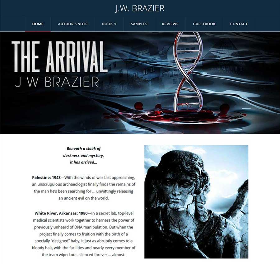 Site pentru un autor de cărti 1